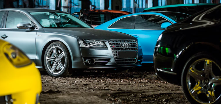 Audi Wrap by Boston Customs